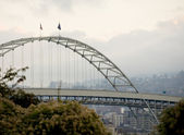 Fremont Bridge, Portland, Oregon — Stock Photo