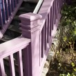 The Lavender Banister — Stock Photo