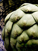 One Artsy Artichoke — Stock Photo