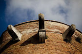 Medeival Brick Turret in Italy — Stock Photo