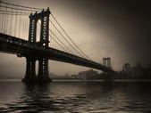 NYC Bridge — Stock Photo