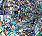 Túnel de difusión — Foto de Stock