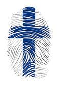 Finland identiteit — Stockfoto