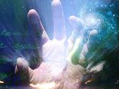 Hand Fear — Stock Photo