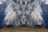 Skeletal Clouds — Stock Photo