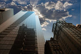 CIty buildings and sky — Stock Photo