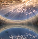Durgun sular — Stok fotoğraf