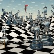 Fantasy Chess - Stock Photo