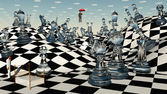 Fantasy Chess — Foto de Stock