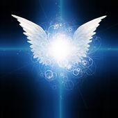Anioł skrzydlaty — Zdjęcie stockowe
