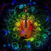 Violin Design — Stock Photo