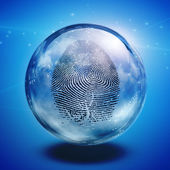 Fingerprint — Stock Photo