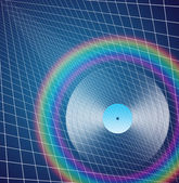 Rainbow LP — Stock Photo