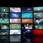 media schermen — Stockfoto