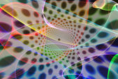 Psychedelic background — Stock Photo