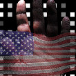 Foto de Stock  : Binary America