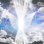 Angelico essere oscurato — Foto Stock
