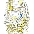 Euro Finger Print - Stock Photo