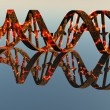 Damaged DNA Strands - Stock Photo