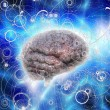 Brain Radiates — Stock Photo