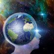 Stock Photo: Earth Mind
