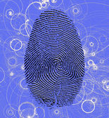 Atomic Fingerprint — Stock Photo