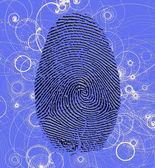 Atomic Fingerprint — Stock Photo