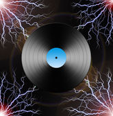 Electric LP — Stock Photo
