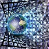 Mercato mondiale — Foto Stock