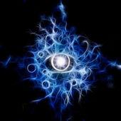 眼睛抽象 — 图库照片