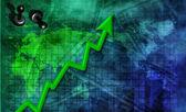Försäljning upp — Stockfoto