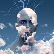 Head in Clouds — Stock Photo #28183011