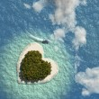 Heart Island — Stock Photo