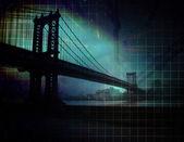 Résumé de pont de ville — Photo