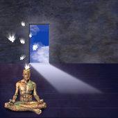 Salle de méditation — Photo
