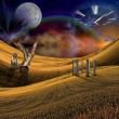 Stock Photo: fantasy landscape