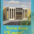 Two Guys Trading Stamp Booklet — Stock Photo