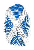 Scottland ID — 图库照片