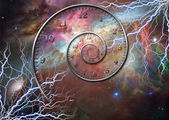 Time space — Stock Photo