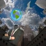 City Earth Idea — Stock Photo #29431099