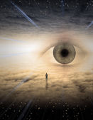 Eye of god — Stock Photo