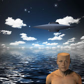 Illustration of UFO — Stock Photo