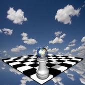 Afryka szachownicy — Zdjęcie stockowe