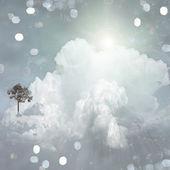 Strange Cloudscape — Stock Photo