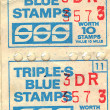 Triple-s Trading Stamps — Stock Photo