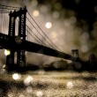 NYC Bridge — Stock Photo