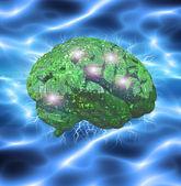 Electronic Brain — Stock Photo