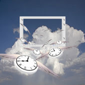 Flying time — Stock Photo