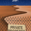 Private Property — Stock Photo #29484049