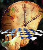 Checkerboard Time — Stock Photo